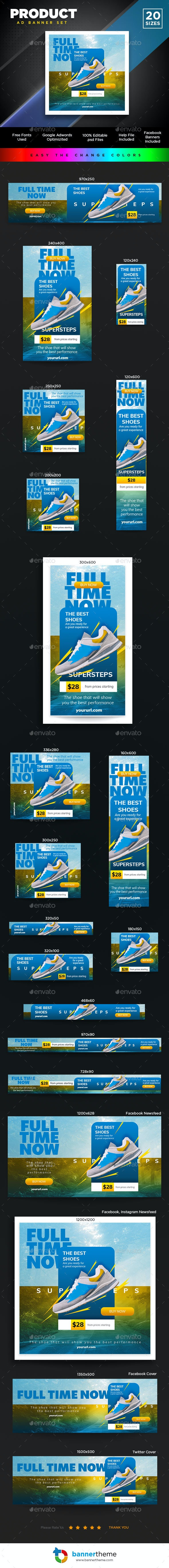 Product Banner - Banners & Ads Web Elements