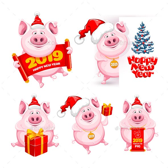 Set of Pigs