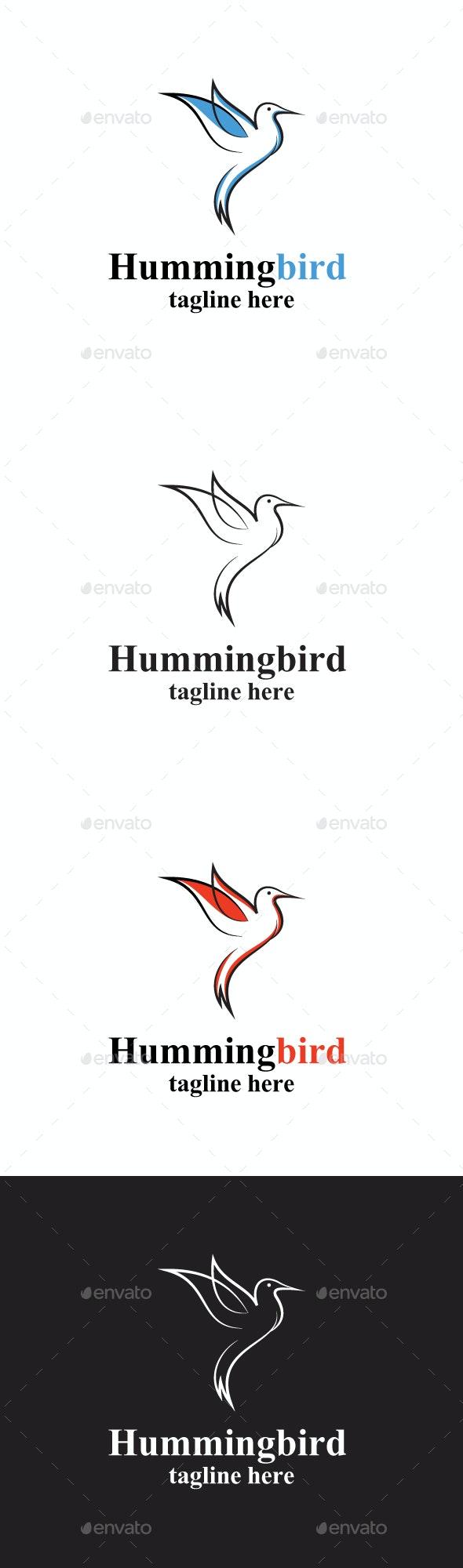 Hummingbird  Logo design - Animals Logo Templates