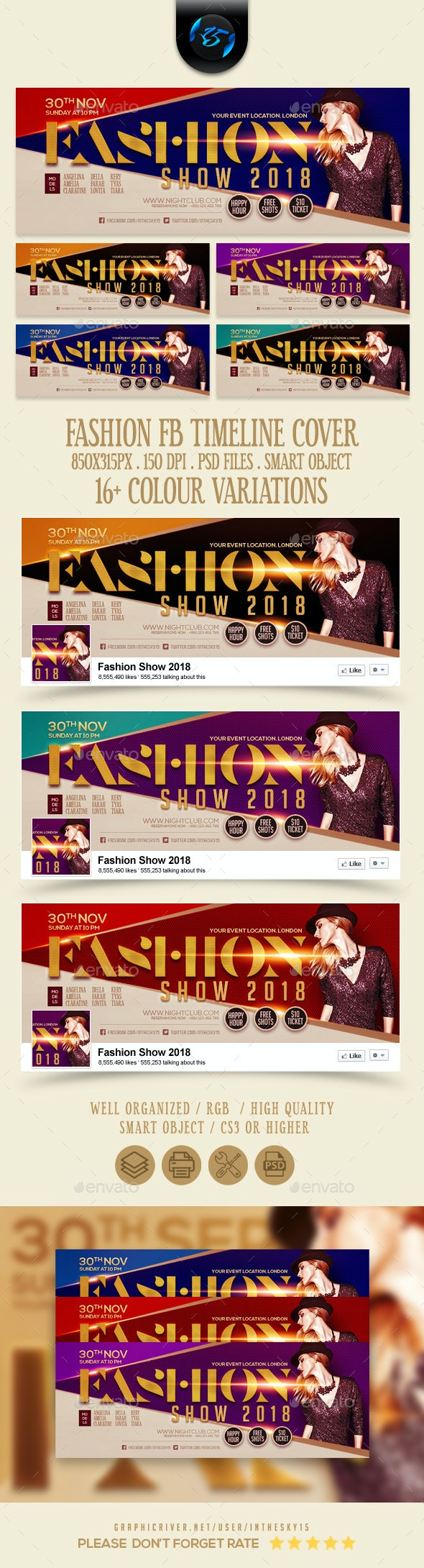 Fashion FB Timeline Cover - Facebook Timeline Covers Social Media