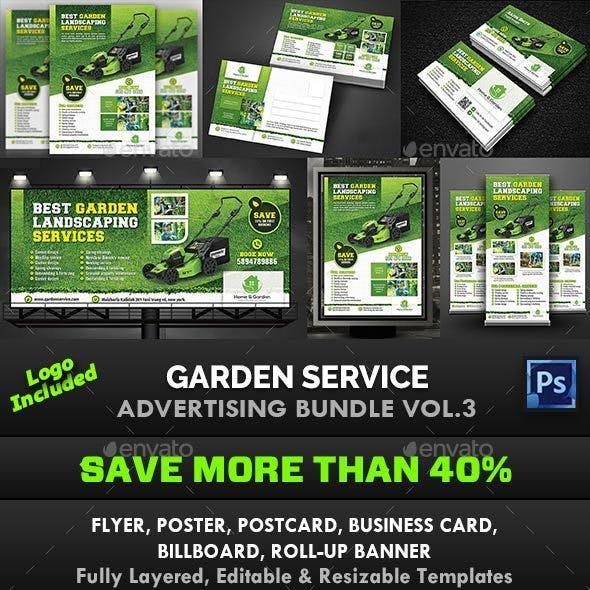 Garden Landscape Advertising Bundle Vol.3