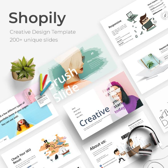 Shopily Creative Powerpoint Template