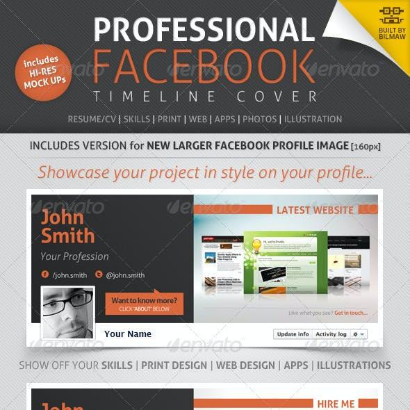 Professional Facebook Timeline Cover