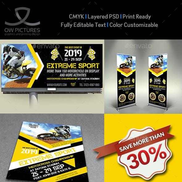 Extreme Sport Advertising Bundle