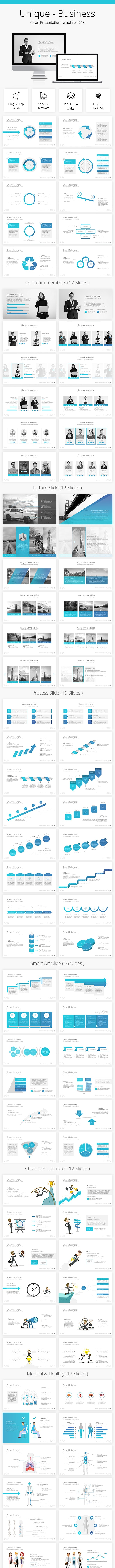 Infinity Business Clean Google Slides Template 2018 - Google Slides Presentation Templates