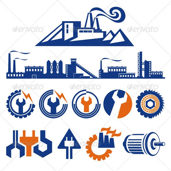 The Symbols of the Factory - Industries Business