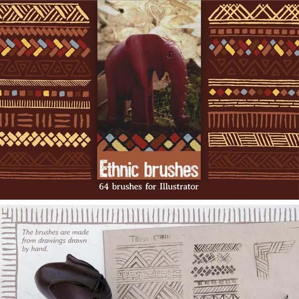 Ethnic brushes