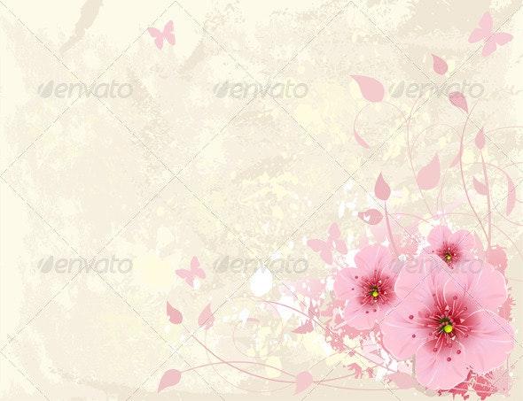 Floral design - Backgrounds Decorative