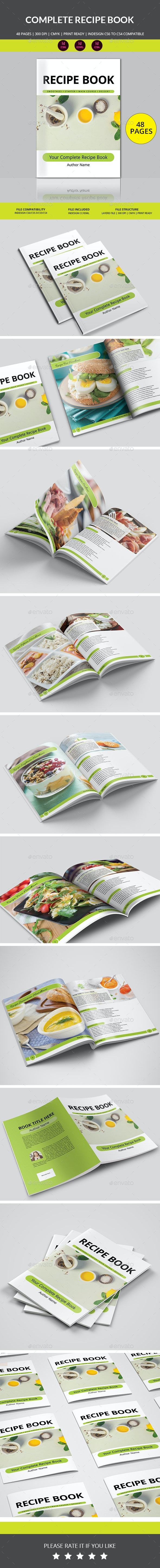 Recipe Book - Informational Brochures