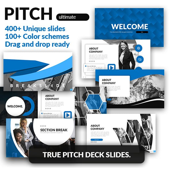 Pitch Deck Google Slides Template - Pitch Ultimate