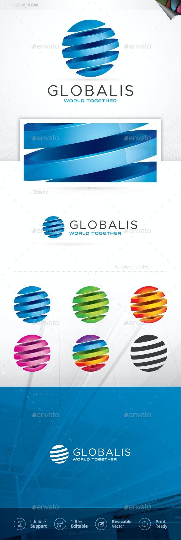 Sphere Logo - Company Logo Templates
