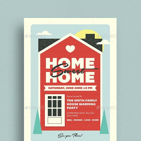 House Warming Event Invitation
