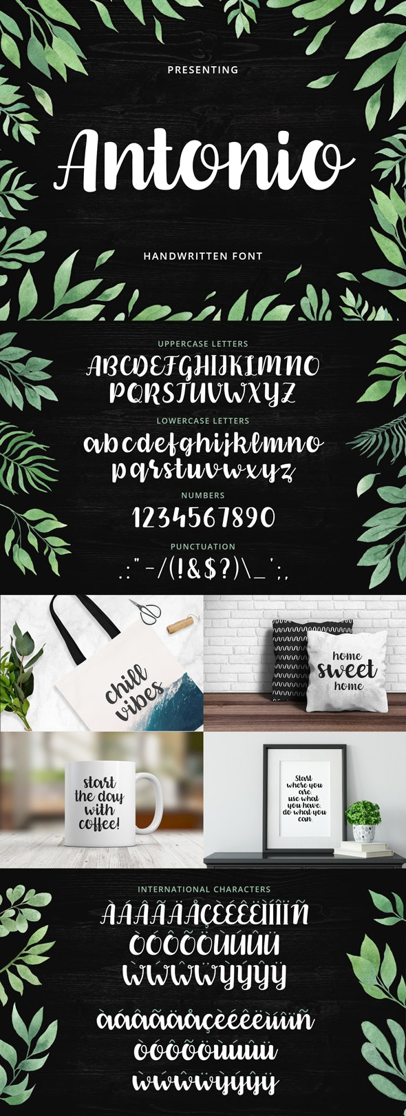 Antonio Script Font - Script Fonts