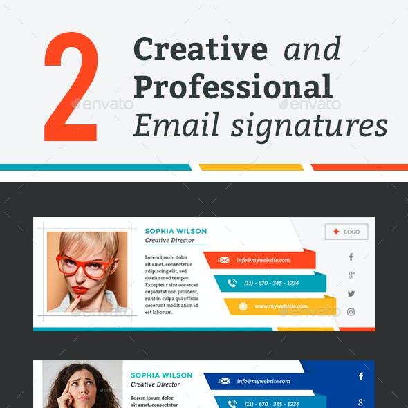 Creative Email Signature Graphics Designs Templates,Expensive Designer Purse Brands