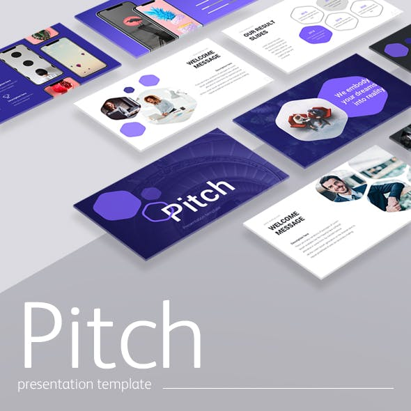 Pitch Google Slides Template