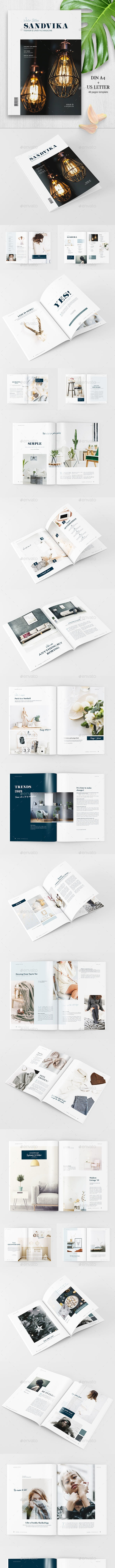 SANDVIKA Magazine - 48 pages - Magazines Print Templates