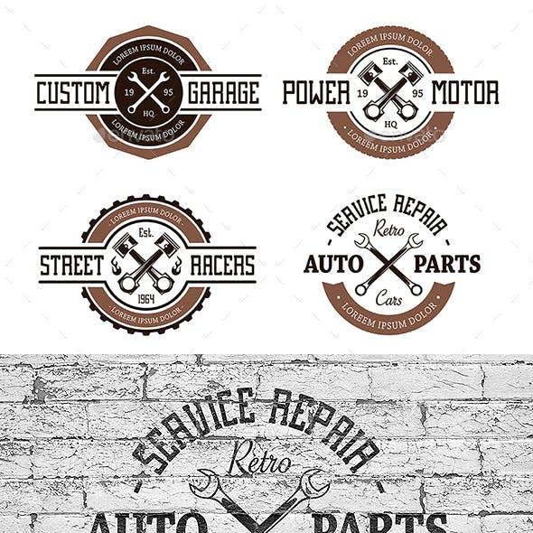 Vector Auto Emblems
