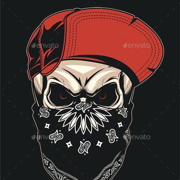 Skull in a Red Cap