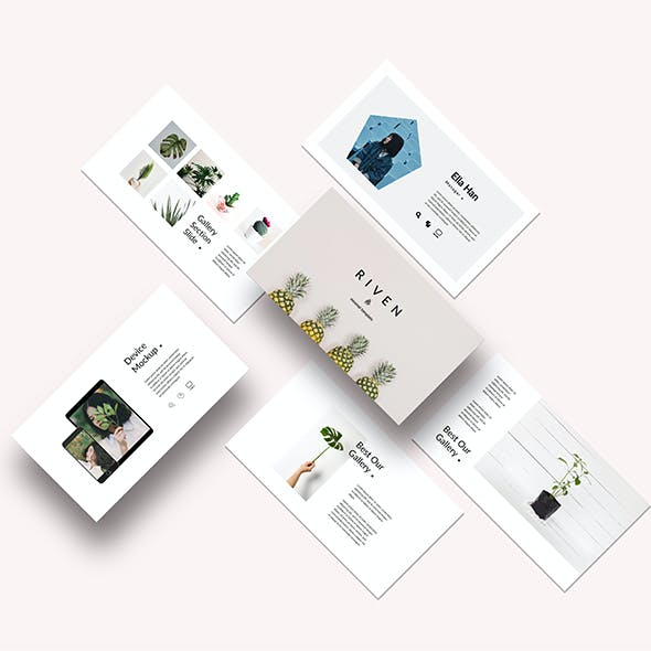 Riven-Creative Powerpoint Template