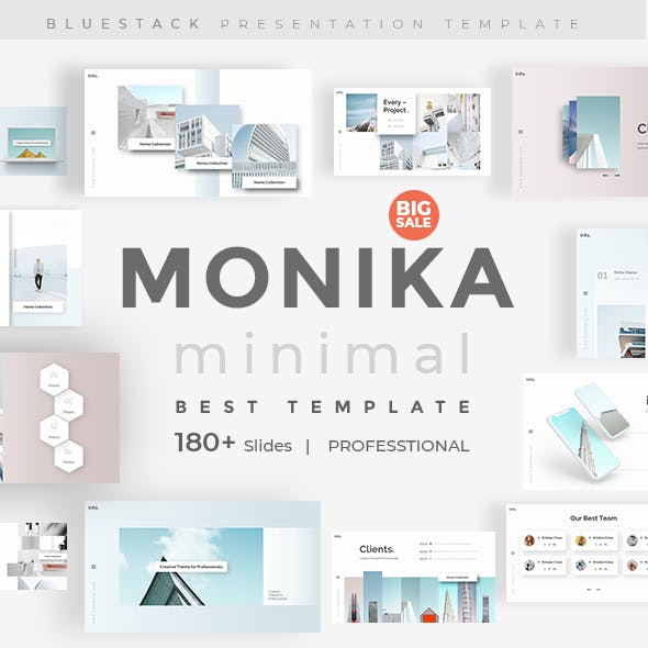 Monika Minimal Keynote Template