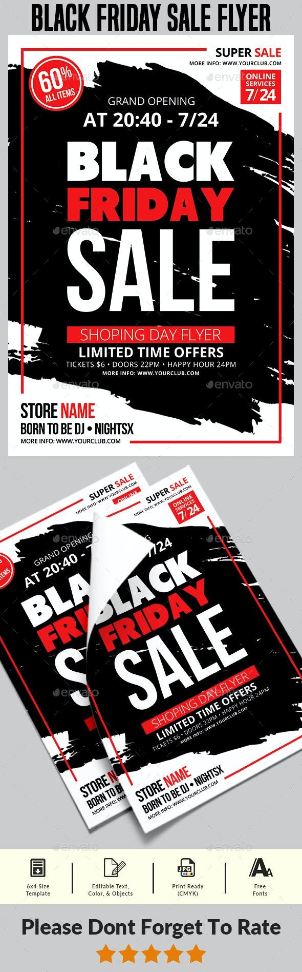 Black Friday Sale Flyer Templates - Commerce Flyers