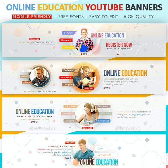 Online Education YouTube Banner