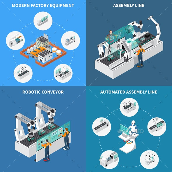 Assembly Line Design Concept - Industries Business