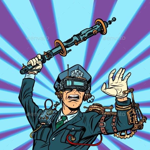 VR Glasses Police Violence