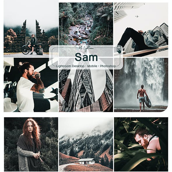 Sam Lightroom Desktop and Mobile Presets