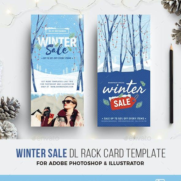 Winter Sale DL Rack Card
