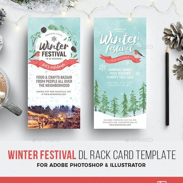 Winter Festival DL Rack Card
