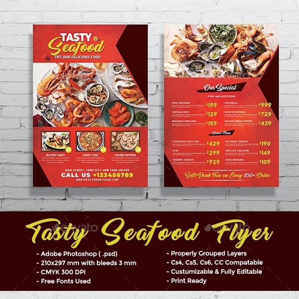 Tasty Seafood Flyer