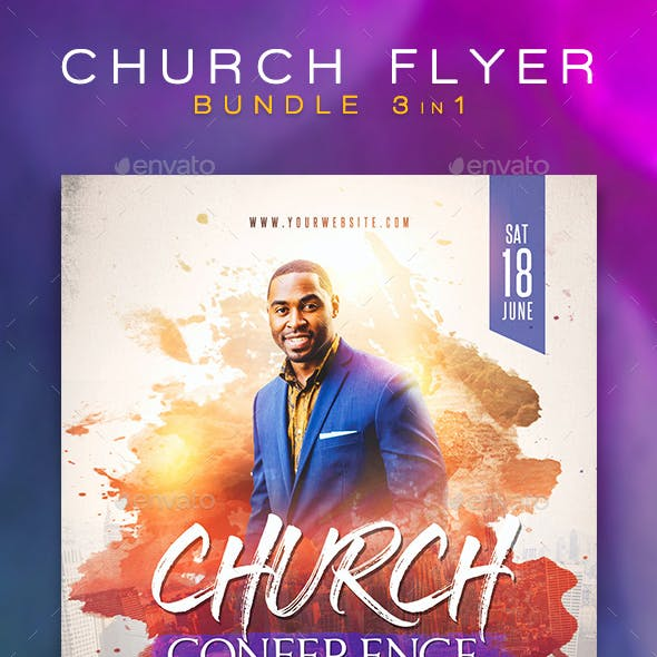 Church Flyer Bundle 1