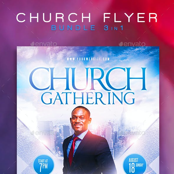 Church Flyer Bundle 3