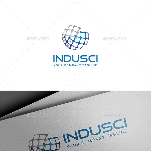 INDUSCI - Industry & Science Logo