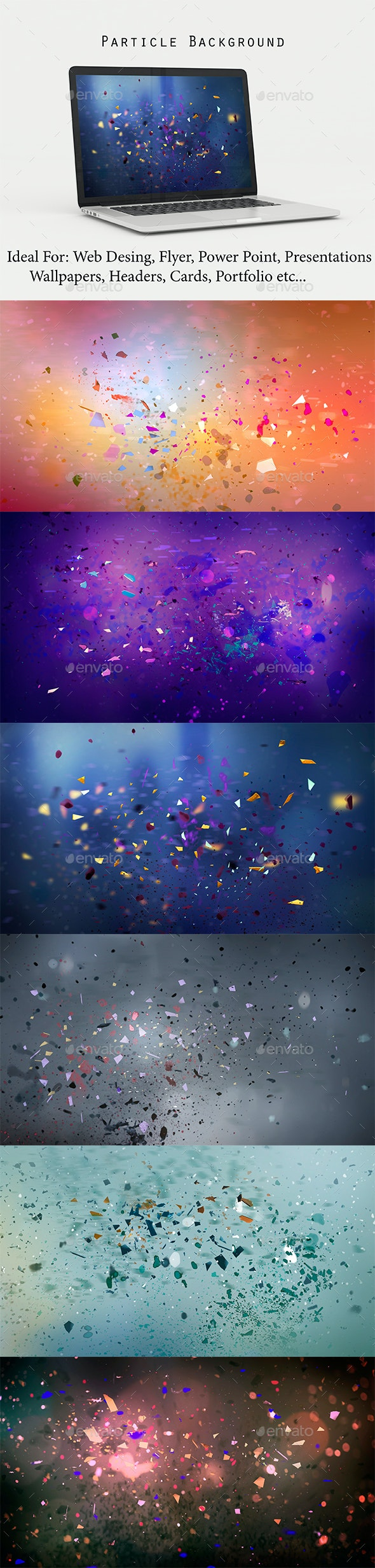 Particle Background - Abstract Backgrounds
