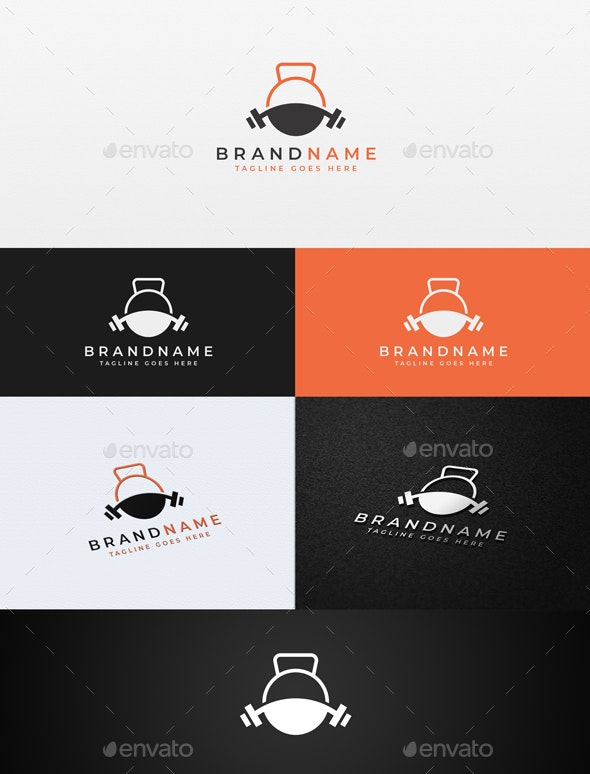 Gym Fitness - Sports Logo Templates