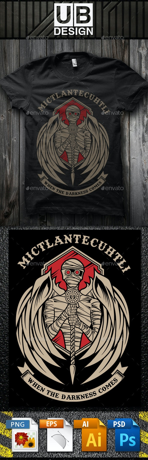 Mictlantecuhtli - Designs T-Shirts