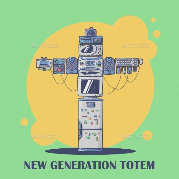 New Generation Totem Compound From Current Devices