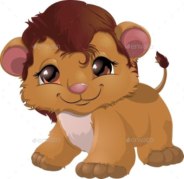 Leon Cartoon Vector - Animals Characters