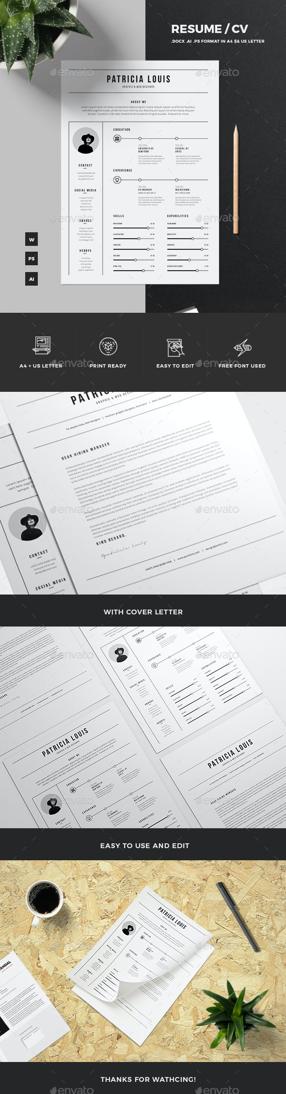 Resume Templates - Resumes Stationery