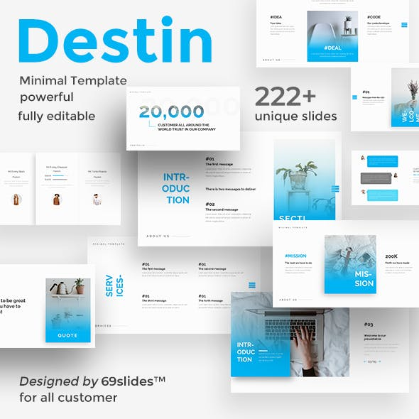 Destin Creative Powerpoint Template