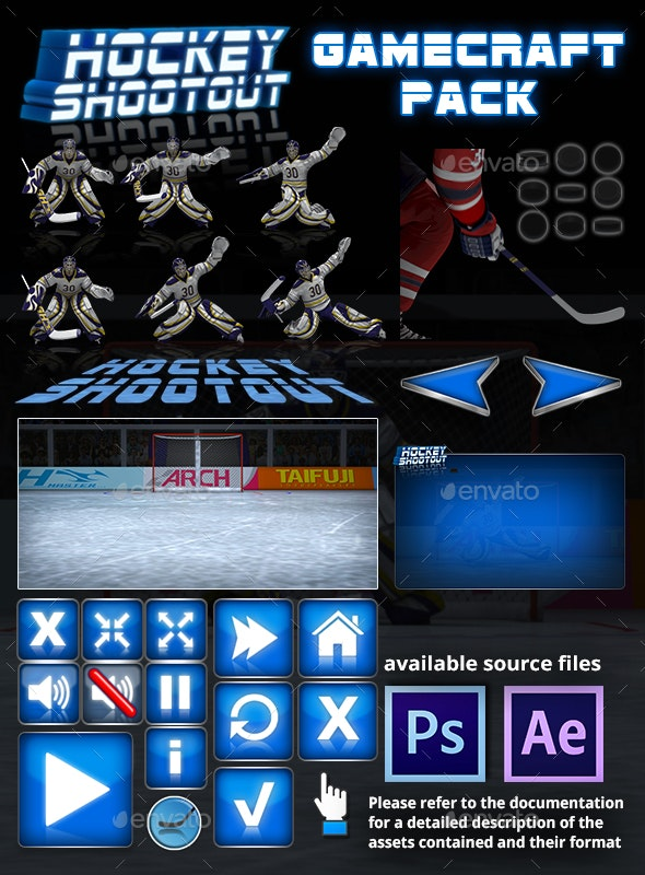 Hockey Shootout - Game Assets - Game Assets