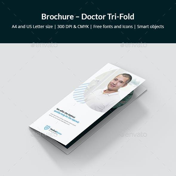 Brochure – Doctor Tri-Fold