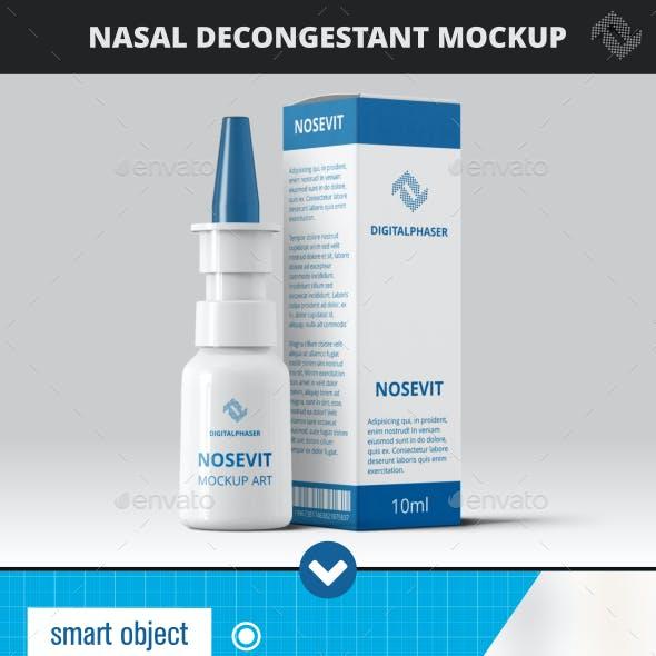 Nasal Decongestant  Mock-Up