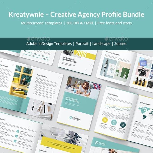 Kreatywnie – Creative Agency Profile Bundle 3 in 1