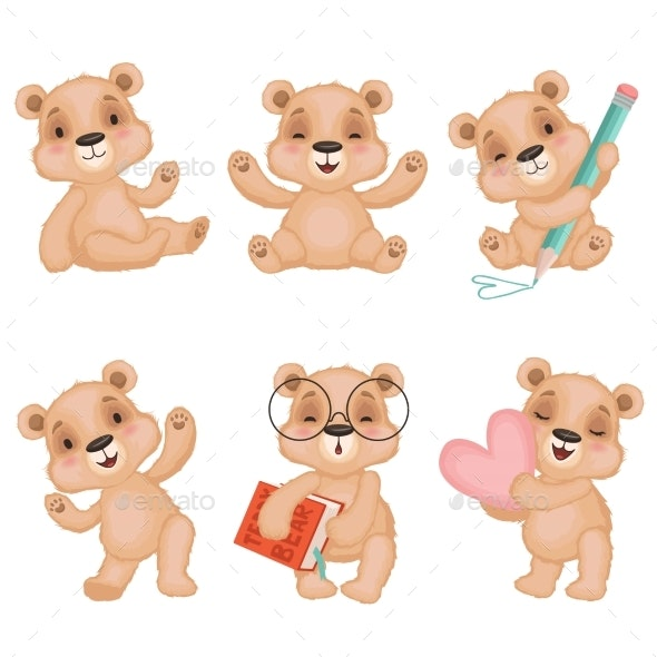 Teddy Bear Characters - Animals Characters