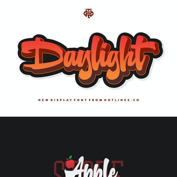 Daylight typeface