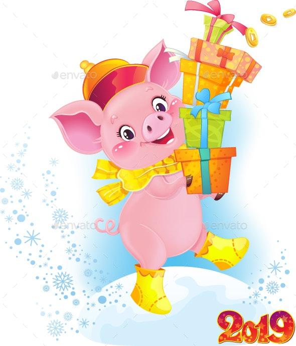 Symbol of Chinese Horoscope - New Year Seasons/Holidays