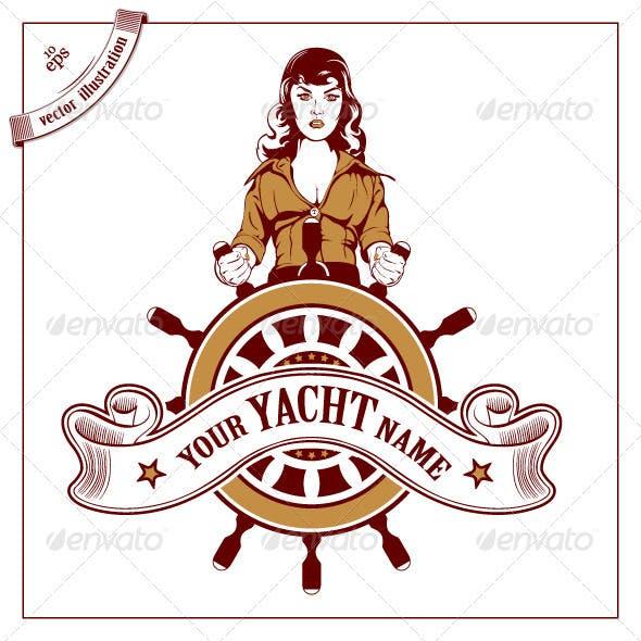 Pirate Cartoon Woman